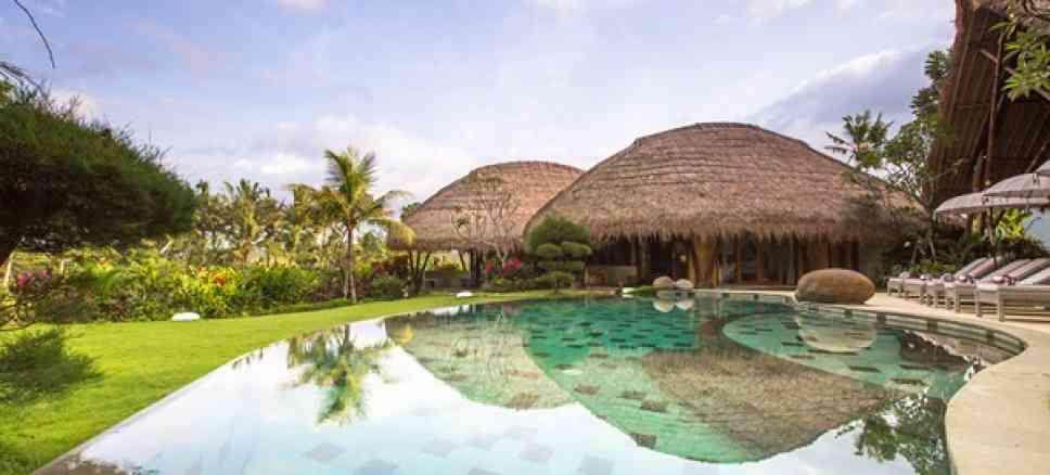 Beach Villa Bali Beachfront Seminyak Villas Luxury