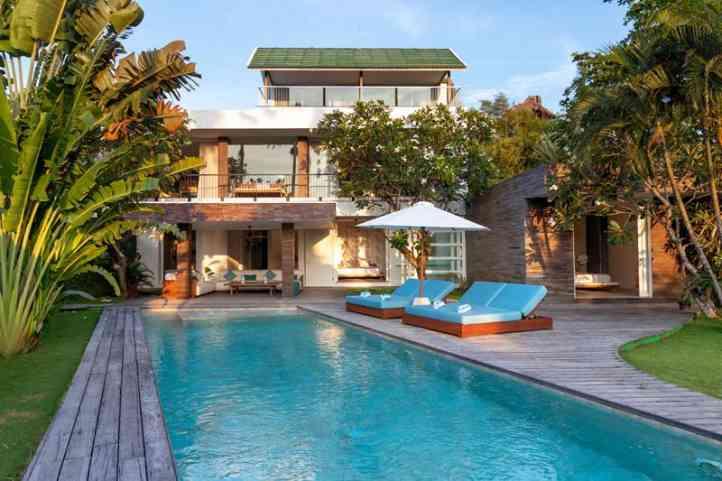 Luxury Villa Canggu Echo Beach Nedine Villa Canggu 4 Bedroom
