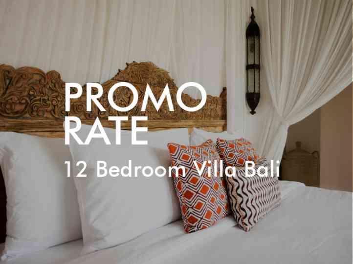 Promo Rate 12 Bedroom Villa Bali Family Villas Bali Villa Complex Bali