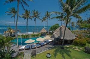 taman ahimsa beachfront villa
